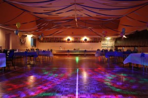 Detling Village Hall - The main hall